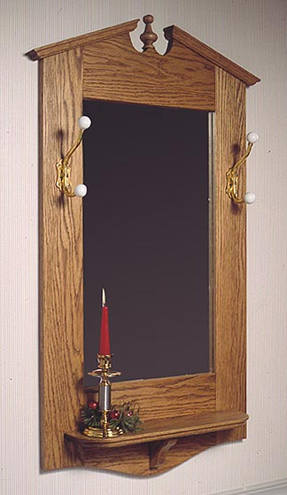 Chippendale Wall Mirror : Large-format Paper Woodworking PlanFurniture Mirrors