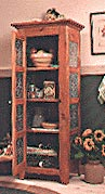 Pie Safe : Large-format Paper Woodworking PlanFurniture Cabinets & Storage