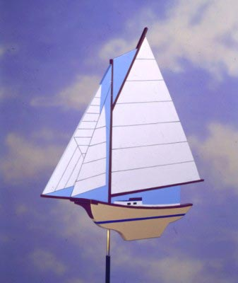 Smooth-Sailing Weather Vane : Large-format Paper Woodworking PlanOutdoor Outdoor Accessories Outdoor Seasonal Yard Figures