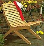 Two-Part Chair : Large-format Paper Woodworking PlanOutdoor Outdoor Furniture