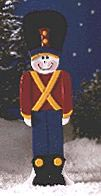 Toy Soldier : Large-format Paper Woodworking PlanOutdoor Seasonal Yard Figures Holidays