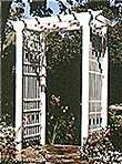 Victorian Arbor : Large-format Paper Woodworking Plan