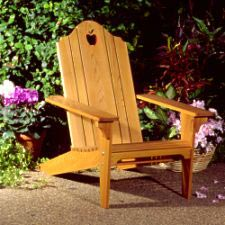 Folding Adirondack Chair : Large-format Paper Woodworking PlanOutdoor Outdoor Furniture