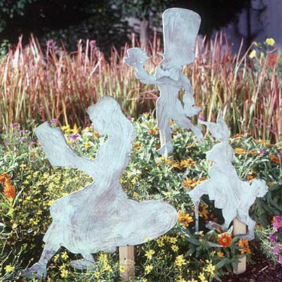 Alice in Wonderland Collection : Large-format Paper Woodworking PlanOutdoor Seasonal Yard Figures