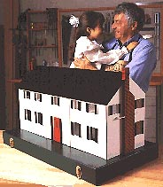Dollhouse : Large-format Paper Woodworking PlanToys & Kids Furniture
