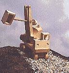 Excavator (Steam Shovel) : Large-format Paper Woodworking PlanToys & Kids Furniture
