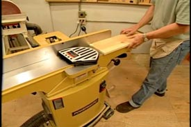 Using a Jointer Planer - Downloadable Video