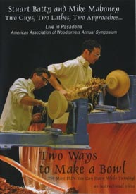 Two Guys, Two Lathes, Two Ways to Make a Bowl - Downloadable Video