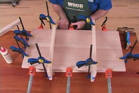 Glue, Clamp, and Sand Panels Flat - Downloadable Video