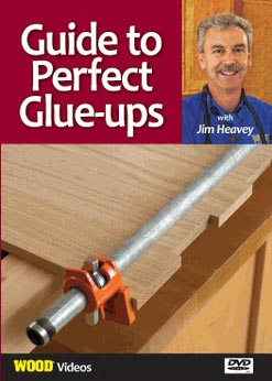 Guide to Perfect Glue Ups Woodworking Plan, Techniques Videos