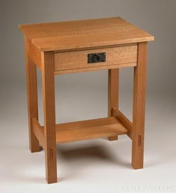 Woodworks Episode 104: Arts & Crafts Inspired Nightstand - Downloadable Video