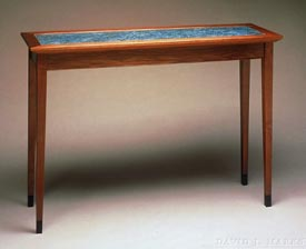 Woodworks Episode 111: Copper Top Hall Table Project Videos