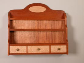 Woodworks Episode 510: Spice Rack with Decorative Inlay - Downloadable Video
