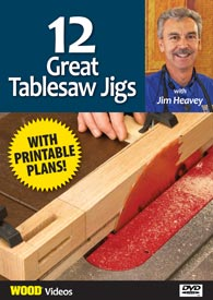 12 Tablesaw Jigs - GR-18-0051