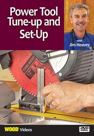 Power Tool Tune-up and Set-up - Video DVD