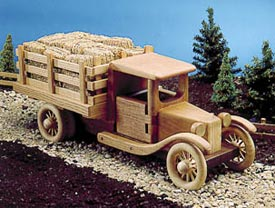 Farm Truck Woodworking Plan, Toys & Kids Furniture