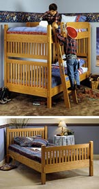 Arts and Crafts Bunk Bed Downloadable Plan