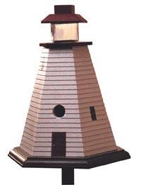 Lighthouse Birdhouse Downloadable Plan