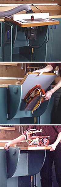 Lift-Up Router & Tool Table, Part 2 Downloadable Plan