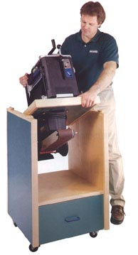 Swivel-Topped Tool Cabinet Downloadable Plan