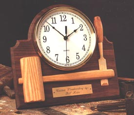 Signature Shop Clock Woodworking Plan, Gifts & Decorations Clocks