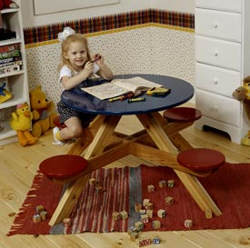 Four-Seater Picnic Table Downloadable Plan