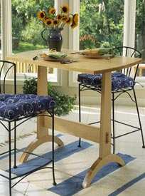 Shaker-Style Trestle Table