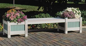Classic Planter & Bench Printed Plan
