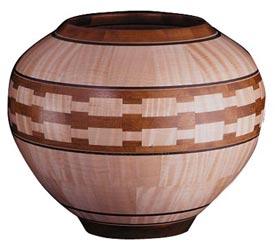 Segmented Lathe Bowl Downloadable Plan