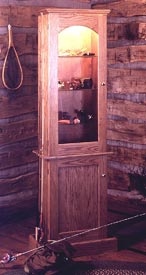 Anglers Showcase Cabinet Downloadable Plan