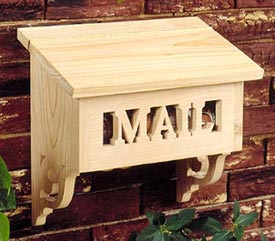 Special Delivery Mailbox Woodworking Plan, Outdoor Outdoor Accessories
