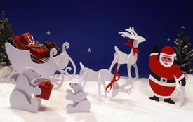 Tabletop Christmas Figures Downloadable Plan