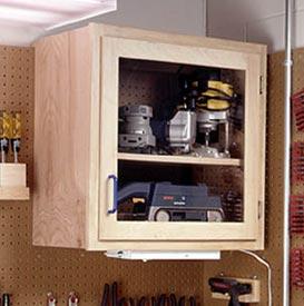 Modular Shop Cabinet System Downloadable Plan
