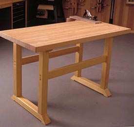 Simple-to-Build Workbench Woodworking Plan, Workshop & Jigs Workbenches