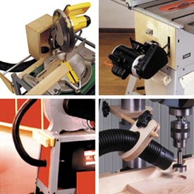 Four Dust Collectors Woodworking Plan, Workshop & Jigs Dust Collection