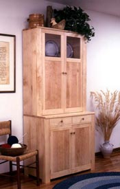Shaker Cupboard Woodworking Plan, Furniture Cabinets & Storage