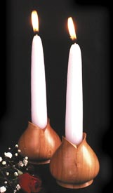Turned Candleholders Downloadable Plan