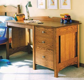 Kids Oak Desk Woodworking Plan, Furniture Desks Toys & Kids Furniture