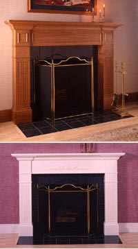 Fabulous Fireplace Printed Plan