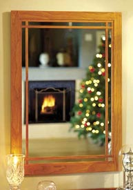 Cherry Wall Mirror Woodworking Plan, Furniture Mirrors
