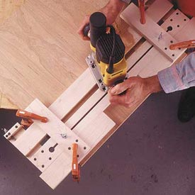 Fail-Safe Router Jig Downloadable Plan