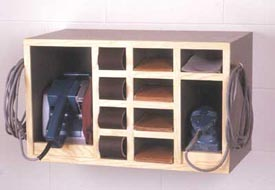 All-In-One Sander Cabinet Downloadable Plan