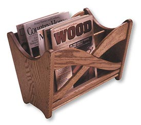 Magazine Rack Printed Plan