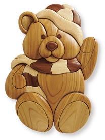 Intarsia Teddy