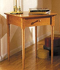 Shaker Nightstand Downloadable Plan