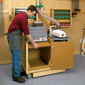 Dual-Purpose Sanding Center Downloadable Plan