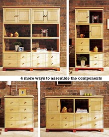 Knockdown Modular Cabinets