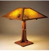 Arts & Crafts Lamp Plan Printed Plan