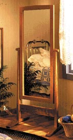 Cheval Shaker Mirror Woodworking Plan, Furniture Mirrors