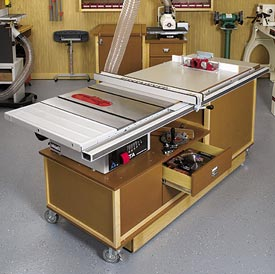 Mobile Sawing & Routing Center Downloadable Plan